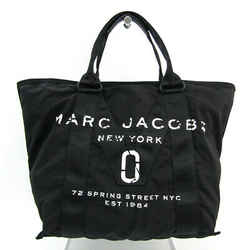 Marc Jacobs New Logo Tote M0011223 Unisex Nylon,Cotton Tote Bag Black BF518479