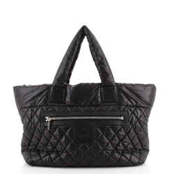 Coco Cocoon Reversible Tote Quilted Nylon Medium