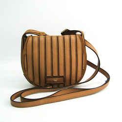 Anya Hindmarch Women's Leather,Suede Shoulder Bag Brown,Dark Beige BF515283