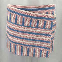 Tory Burch Blue Striped Skort 2