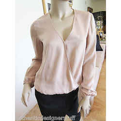 Auth Theory Silk Blouse ,top, Size P
