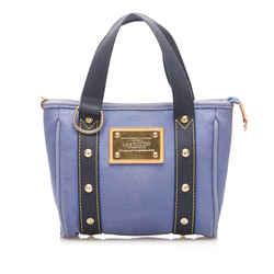Blue Louis Vuitton Antigua Cabas PM Bag