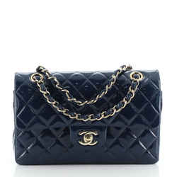 Classic Double Flap Bag Quilted Patent Small