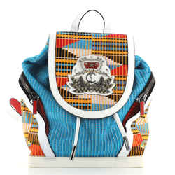 Explorafunk Backpack Africube Textile with Leather