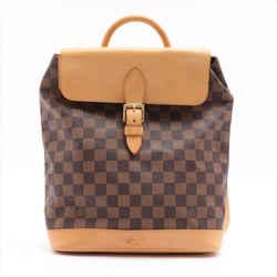 Louis Vuitton Anniversary Centenaire Damier Ebene Arlequin Soho Backpack N99038