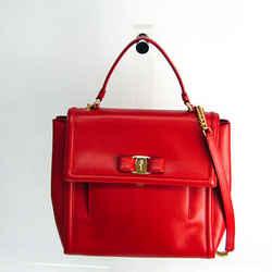 Salvatore Ferragamo Vara EZ-21 G697 Women's Leather Handbag,Shoulder Ba BF524445