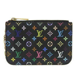 Auth Louis Vuitton Multi Pochette Cle Nm Coin Case Black Noir M93735