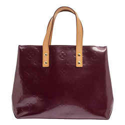 Louis Vuitton Amarante Monogram Vernis Reade PM Bag