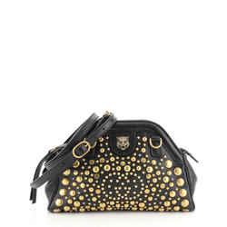 RE(BELLE) Shoulder Bag Studded Leather Small