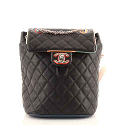 Cuba Urban Spirit Backpack Quilted Lambskin Small