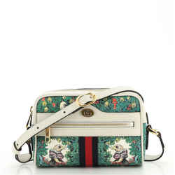 Ophidia Shoulder Bag Limited Edition Printed Coated Canvas Mini