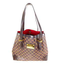 Louis Vuitton Damier Ebene Hampstead Mm Tote 11la528