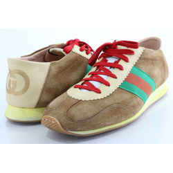Gucci Men's Rocket Suede Low Sneakers
