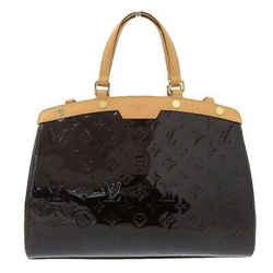 Auth Louis Vuitton Vuitton Verni Blair Mm 2way Handbag Amarant M91619 Leather Ba
