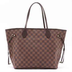 Louis Vuitton Neverfull MM Damier Ebene Ballerine Tote Shoulder Bag