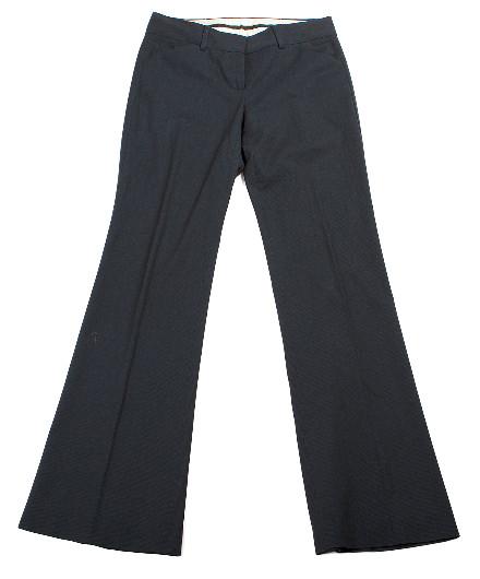 Theory Wool Blend Wide Leg Dress Pants