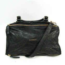 Givenchy Pandora Women's Leather Handbag,Shoulder Bag Black BF517096