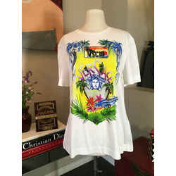 Versace Medusa White Cotton T-Shirt NWT 2676-4-101020