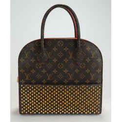 "Louis Vuitton X Christian Louboutin ""The Shopper"" Iconoclast Bag"