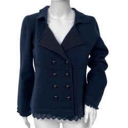 Wool Mohair Pea Coat