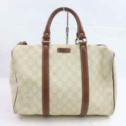Gucci Ivory Supreme Gg Monogram Joy Boston Bag 871520