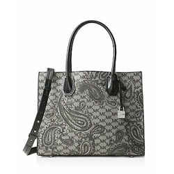 Michael Kors Paisley Mercer Large Convertible Tote Bag