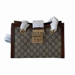 Gucci Padlock Small GG Supreme Shoulder Bag