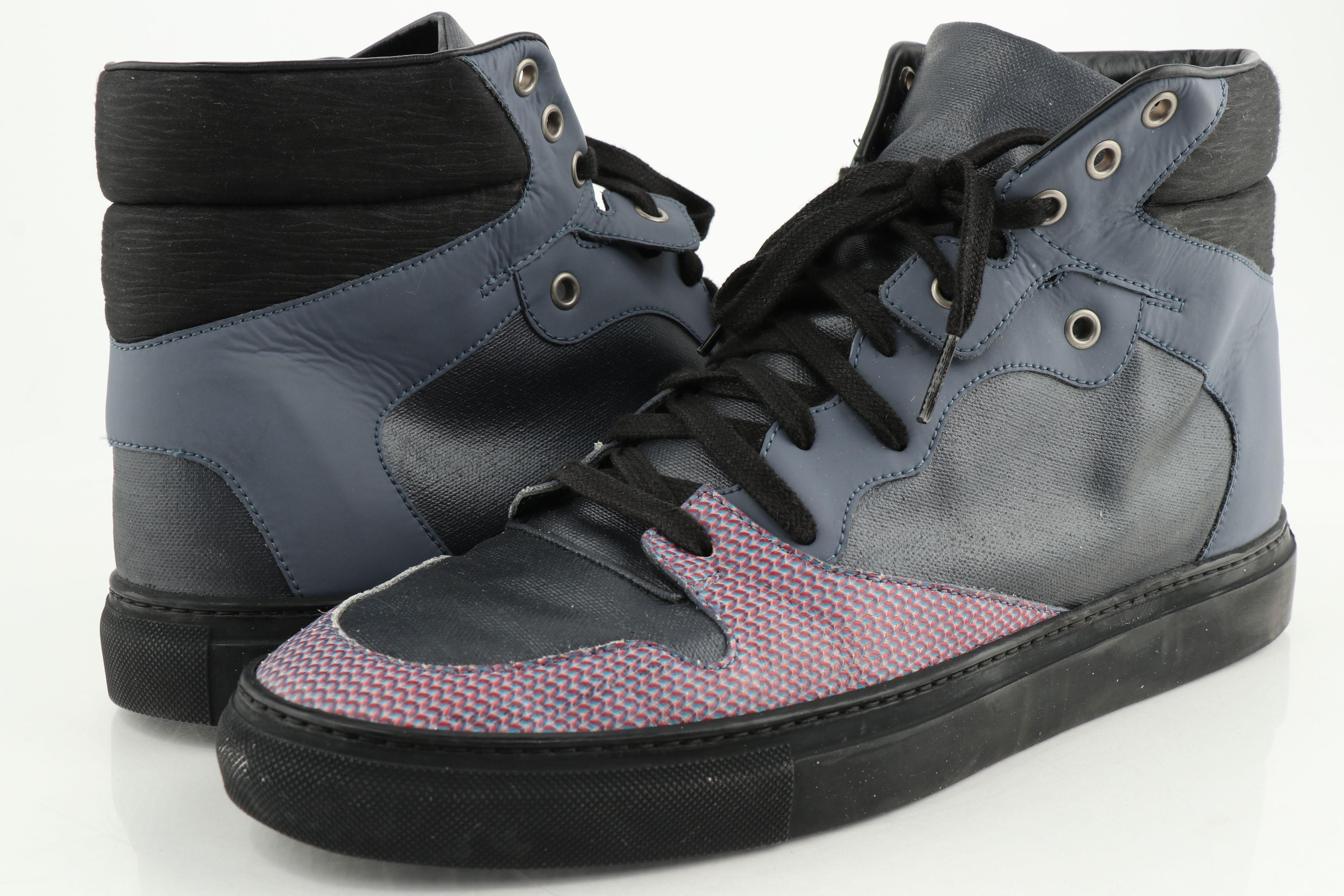 Balenciaga High-Top Sneakers   LePrix