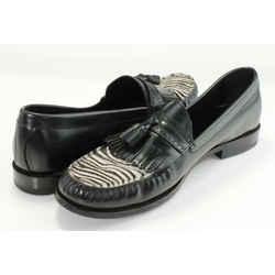 Celine FW19 Zebra Luco Loafers