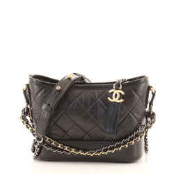 Gabrielle Hobo Quilted Aged Calfskin Small