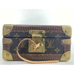 Louis Vuitton Conffret Tresor 20 Trunk Monogram Box Jewelry Case 1la423