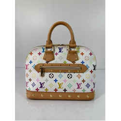 Louis Vuitton Limited Edition Multicolor Takashi Murakami Alma PM Satchel Tote Handbag