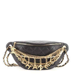All About Chains Waist Bag Quilted Lambskin 20
