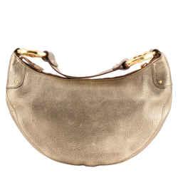 Gucci Half Moon Pebbled Leather Bengal Shoulder Bag