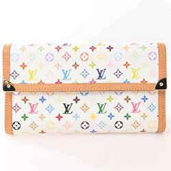 Auth Louis Vuitton Louis Vuitton Multi Portofeuil International Wallet Multicolo
