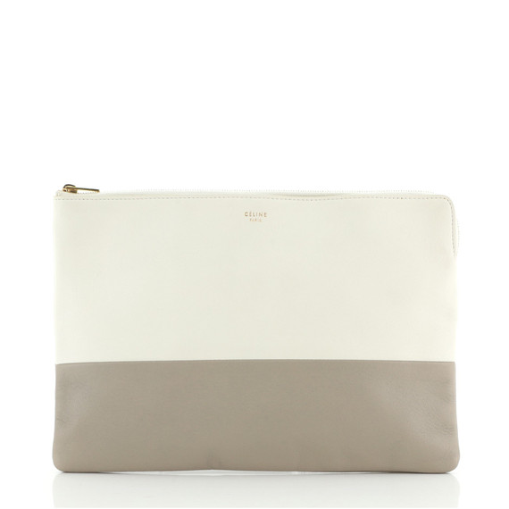 Solo Pouch Bicolor Leather