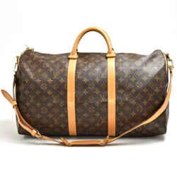 Vintage Louis Vuitton Keepall 50 Bandouliere Monogram Canvas Travel Bag + Strap LU086