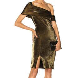 Haney Bronze Emily Dress