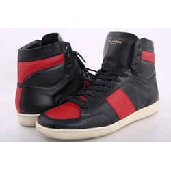 Saint Laurent Sigmala High-Top Sneakers