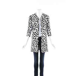 Cushnie Et Ochs Animal Print Jacket SZ 0