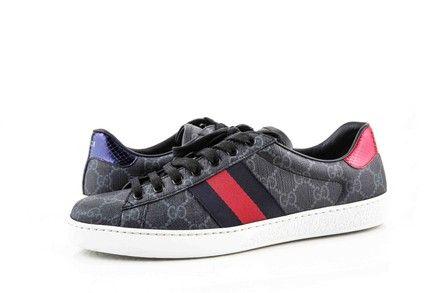 Gucci Ace GG Supreme Sneaker Black/Red