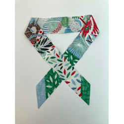 HERMES Twilly Scarf Green