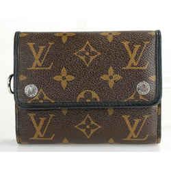 Louis Vuitton Macassar Canvas Compact Wallet