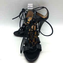 Yves Saint laurent Black Cage Heel 10