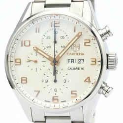Polished TAG HEUER Carrera Calibre 16 Chronograph Steel Watch CV2A1AC BF512450