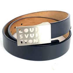 Louis Vuitton Shadow Outline Buckle Belt Black 1la524
