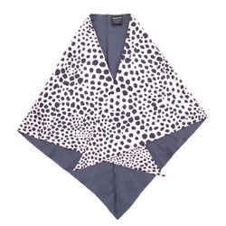 Faune Triangle Scarf Printed Silk