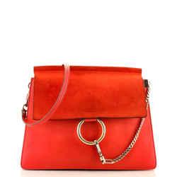 Faye Shoulder Bag Leather Medium