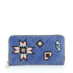 Zippy Wallet Limited Edition Azteque Epi Leather