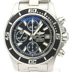 Polished BREITLING Superocean Chronograph Automatic Mens Watch A13341 BF518971
